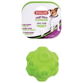 ZOLUX piłka kauczukowa z dźwiękiem 9,5cm green