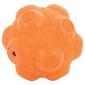 ZOLUX piłka kauczukowa z dźwiękiem 9,5cm pomaraczowa