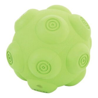 ZOLUX piłka kauczukowa z dźwiękiem 9,5cm zielona