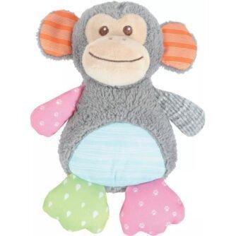 Zabawka pluszowa z dźwiękiem dla psa Crazy Jojo małpka