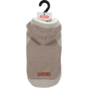 sweterek z kapturem dla psa
