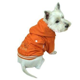 kurtka dla psa pomarańczowa