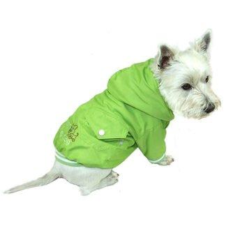 zielona kurteczka dla psa
