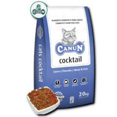 Karma dla kota Canun Cats Cocktail – bogata w drób (25%) i olej rybny 4 kg