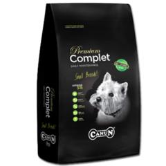 Karma dla psa Premium Canun Complet 4 kg dla małych ras typu york, yorkshire,terier,west ze specjalnie dobranym mięsem z drobiu i wątróbką