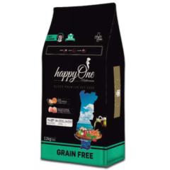 happyOne Grain-Free karma dla psich seniorów SUPER PREMIUM 12KG