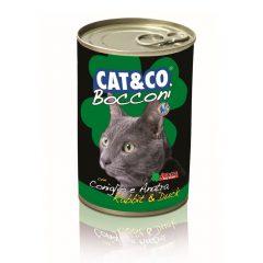 Cat&Co kawałki z królikiem i kaczką 400g