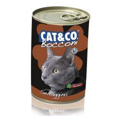 Cat&Co kawałki z dziczyzną 400g