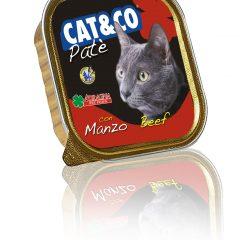 Cat&Co pasztet z wołowiną 100g